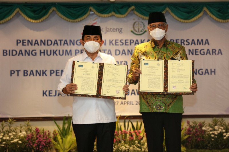 Bank Jateng dan Kejati jalin kerja sama bidang hukum perdata dan tata usaha negara