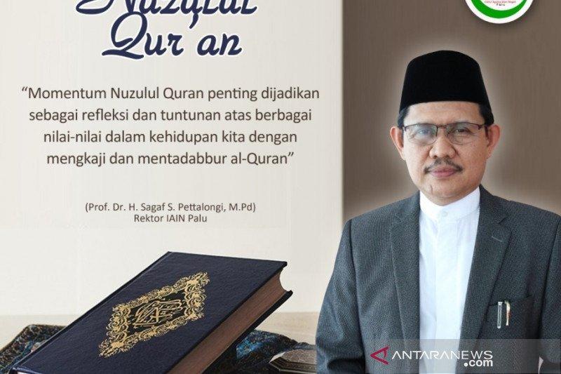 Rektor IAIN Palu:  Ramadhan jadi istimewa karena turunnya Alquran