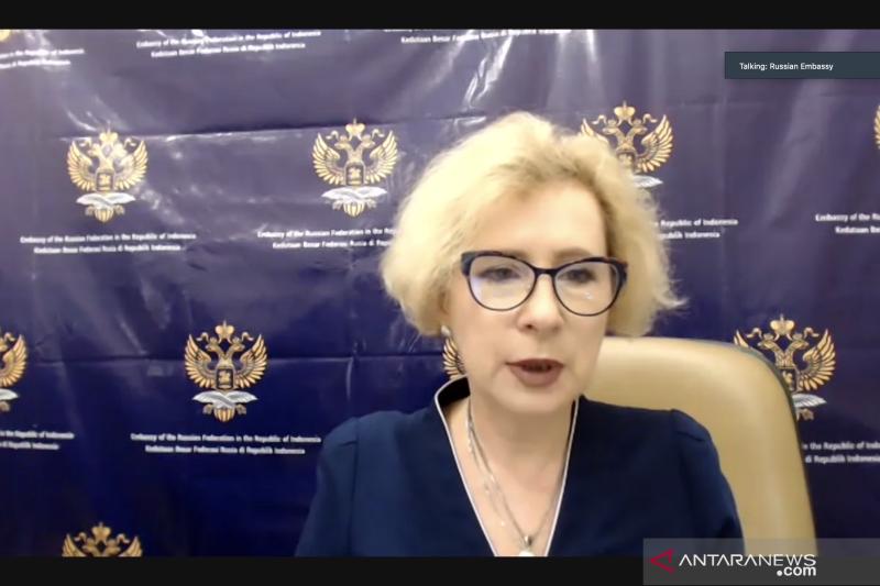 Dubes Rusia sampaikan belasungkawa atas tenggelamnya KRI Nanggala 402