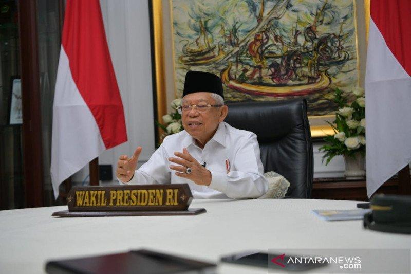 Wapres  Ma'ruf Amin dorong pengembangan produk halal alternatif