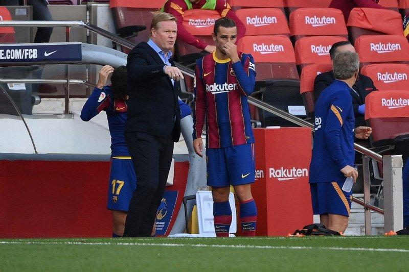 Pelatih Barcelona Koeman nilai Griezmann kini lebih percaya diri