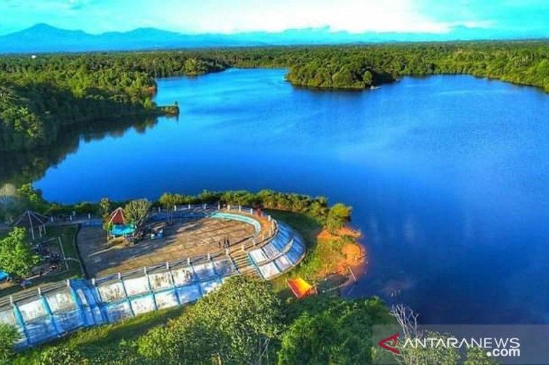 Setelah gempa bumi, wisata Danau Nibung pun menggeliat