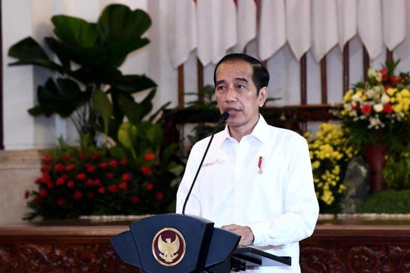 Presiden Jokowi optimistis target pertumbuhan ekonomi 2021 tercapai