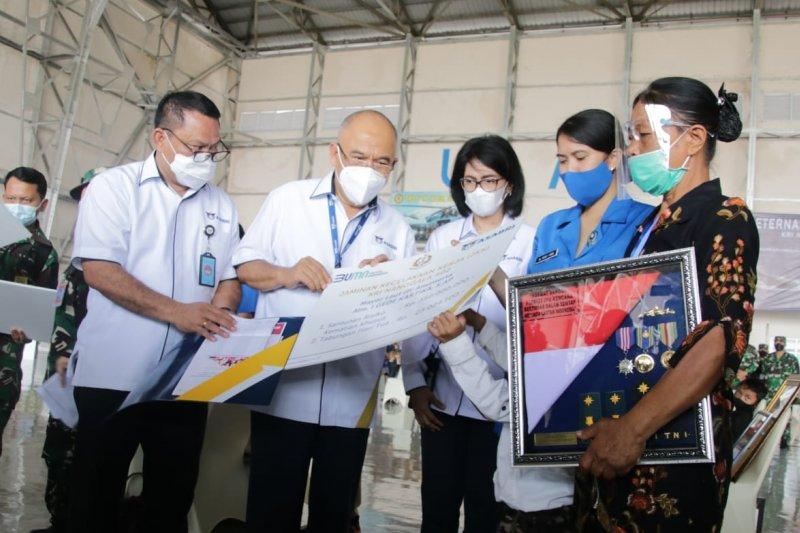 Asabri serahkan senilai Rp20,79 miliar kepada ahli waris korban KRI Nanggala-402