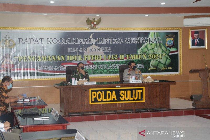 Polda Sulawesi Utara  gelar Rakor pengamanan Idul Fitri