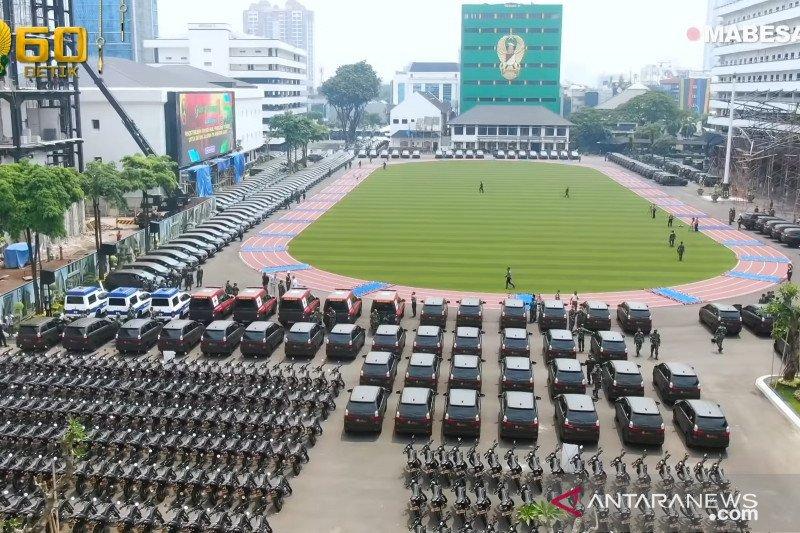 Kasad serahkan 547 unit kendaraan dinas baru ke satuan-satuan TNI AD