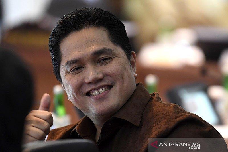 "Erick Thohir: Go public 10-15 BUMN supaya  bisa ""fight"""