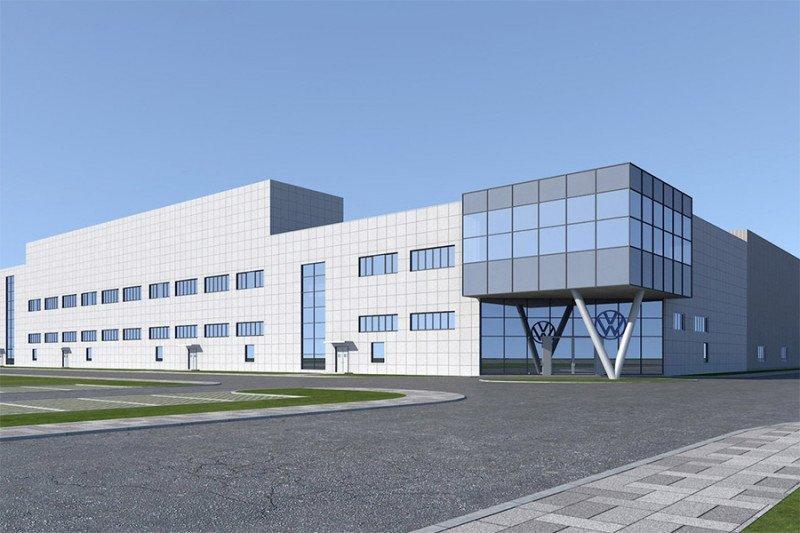 VW bangun pabrik ketiga mobil listrik di China