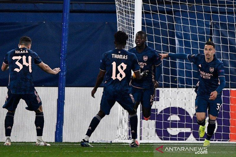 Arsenal percaya diri bawa pulang gol tandang, meski kalah dari Villarreal