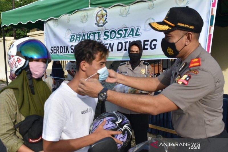 Ini sasaran pelaksanaan bhakti sosial peduli masyarakat yang dilakukan Waka Polres Pasbar