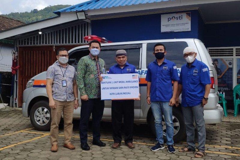 Bank BRI Cabang Lubuklinggau salurkan ambulans ke Yayasan Safa Mandiri Madani