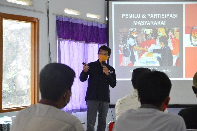 KPU Banjarnegara gencar sosialisasikan pemilu ke pemilih pemula