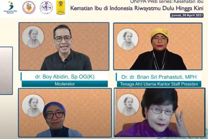 KSP: Pemerintah Indonesia tetap fokus tekan angka kematian ibu