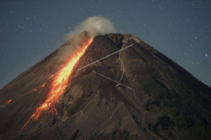 BPPTKG: Gunung Merapi mengalami 112 kali gempa guguran