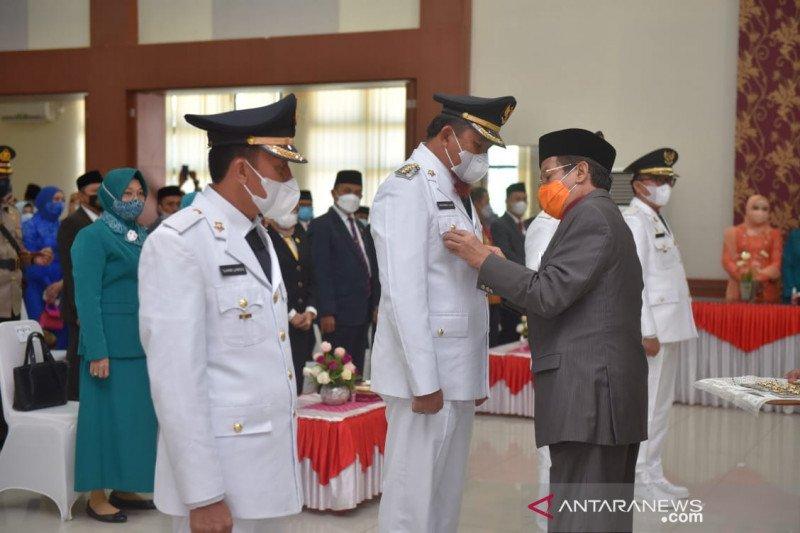 Gubernur Sulteng  ingatkan pemkab/pemkot tidak lengah tangani COVID