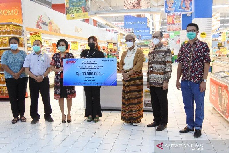 Nobu bank bantu UMKM terdampak  Seroja di NTT