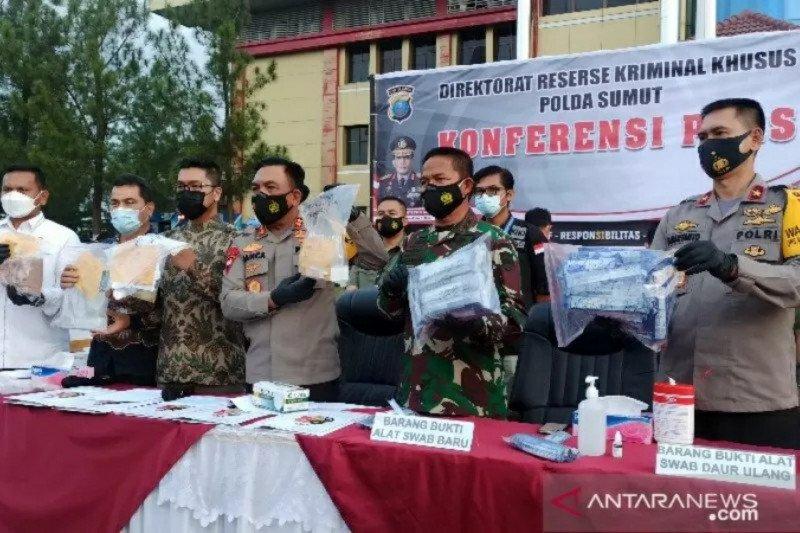 Kapolda: Penggunaan rapid antigen bekas di Kualanamu sejak 2020