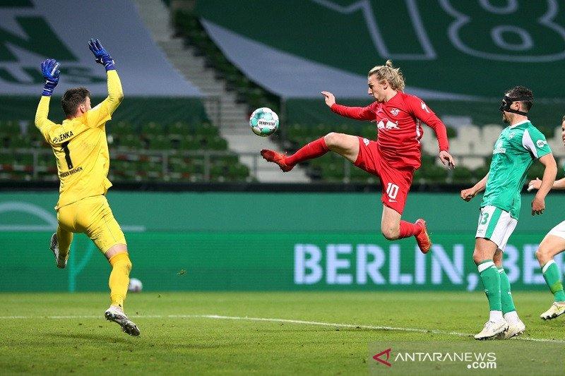 Leipzig singkirkan Bremen di semifinal DFB Pokal