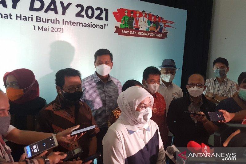 Menaker: May Day 2021 perayaan atas harapan di tengah keterpurukan