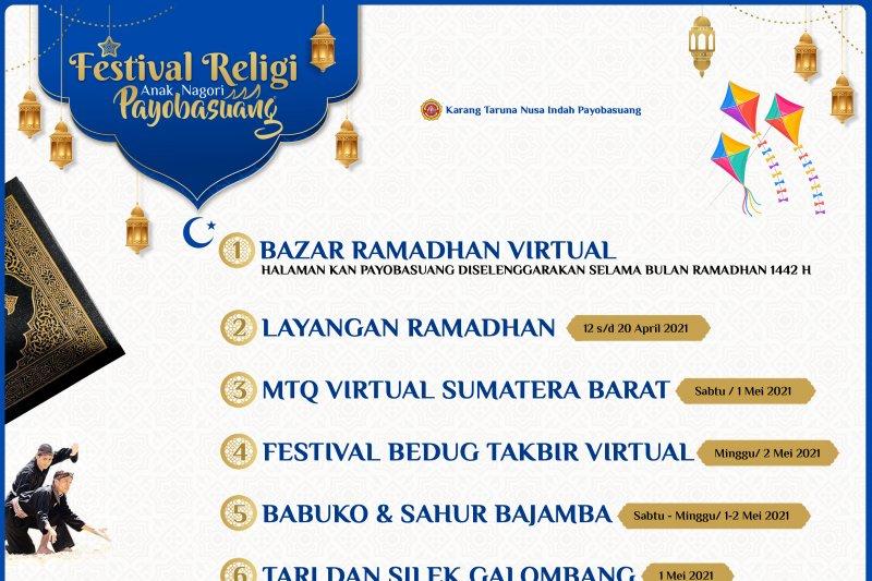 Karang Taruna di Payobasuang gelar Festival Religi Anak Nagari