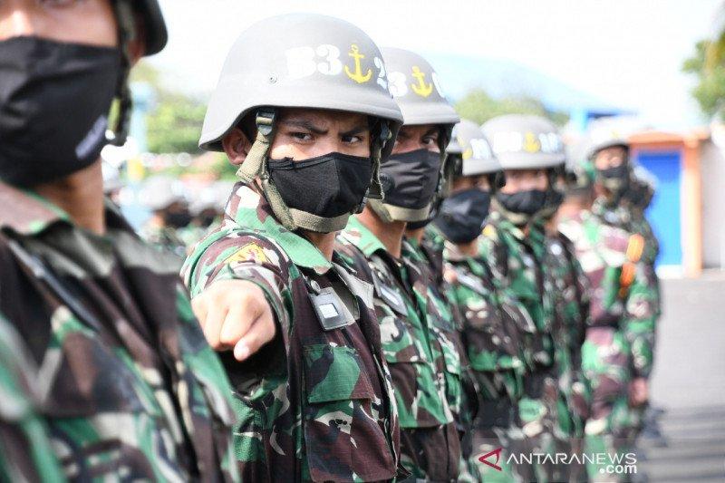 Pendidikan prajurit TNI AL digelar di Makassar