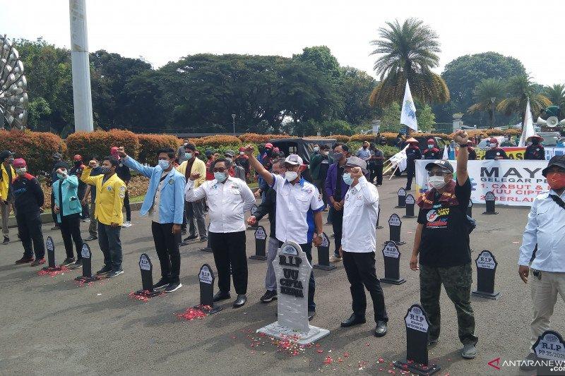 Polda Metro amankan 22 anarko saat unjuk rasa May Day di Jakarta