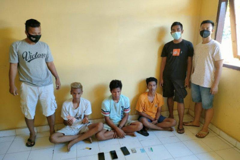 Kedapatan bawa narkoba, tiga pemuda ingusan di Sumbawa diringkus