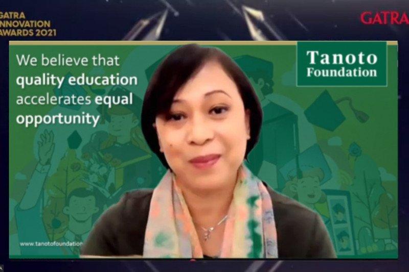 Tanoto Foundation terima penghargaan inovator pelatihan guru