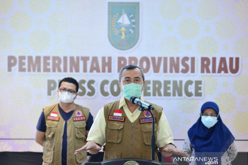 Zona merah COVID-19 di Riau terus  bertambah