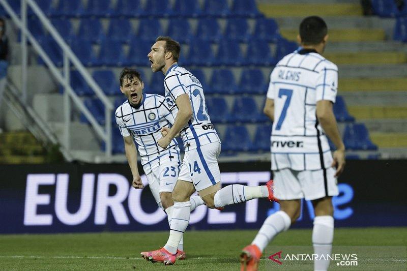 Inter taklukkan Crotone 2-0