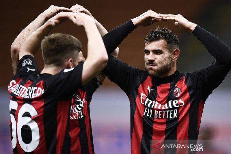 Milan kembali ke jalur kemenangan usai babat Benevento