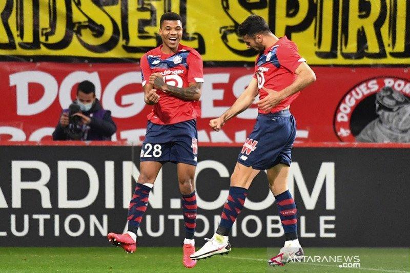 Liga Prancis-Lille amankan kembali posisi puncak setelah sempat digusur PSG
