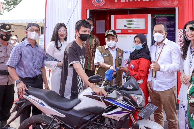 Pertamina hadirkan Pertashop di Desa Buko Poso Mesuji Lampung
