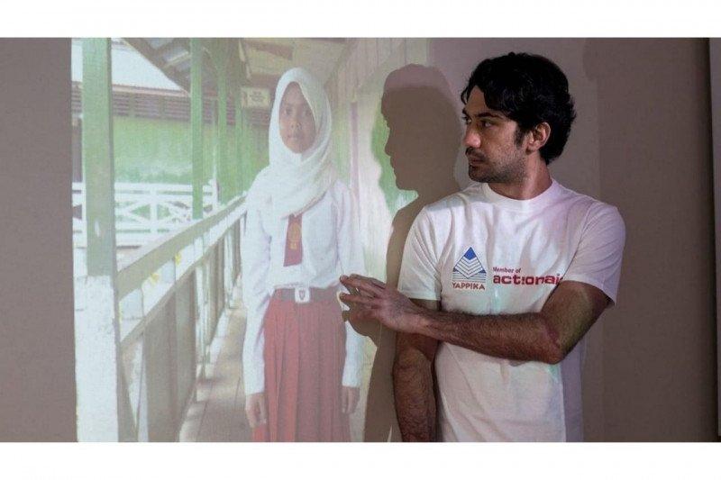Reza Rahadian: Partisipasi publik berperan majukan pendidikan