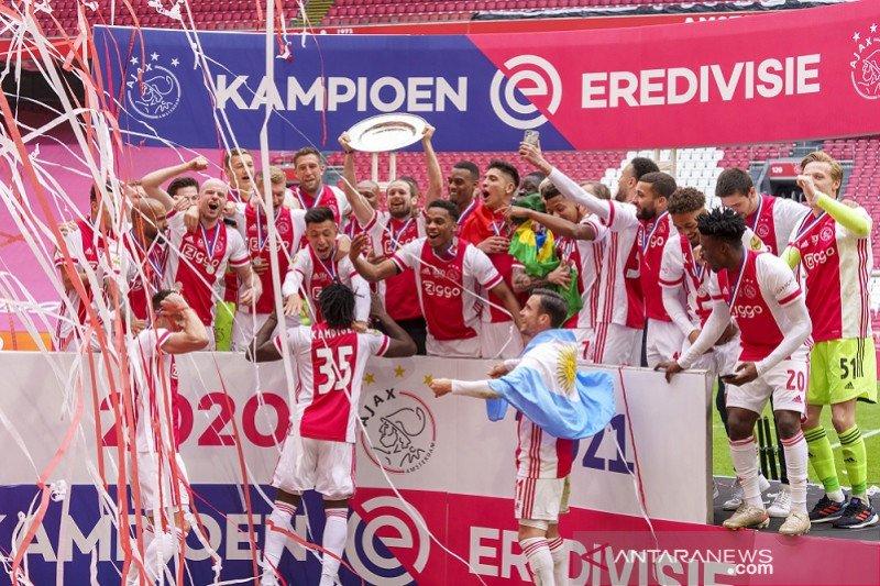 Ini daftar juara Liga Belanda: Ajax kian perkasa dengan 35 trofi