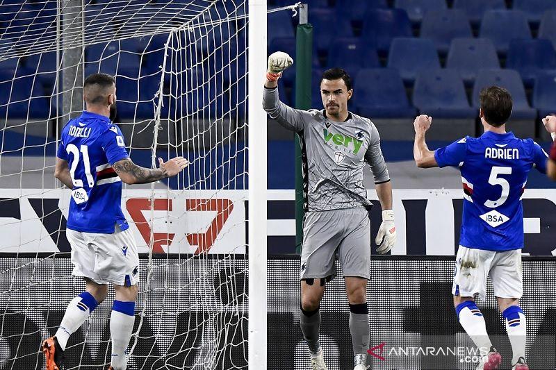 Sampdoria bekuk  Roma