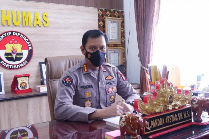 Polda Lampung jaring ratusan kendaraan pemudik