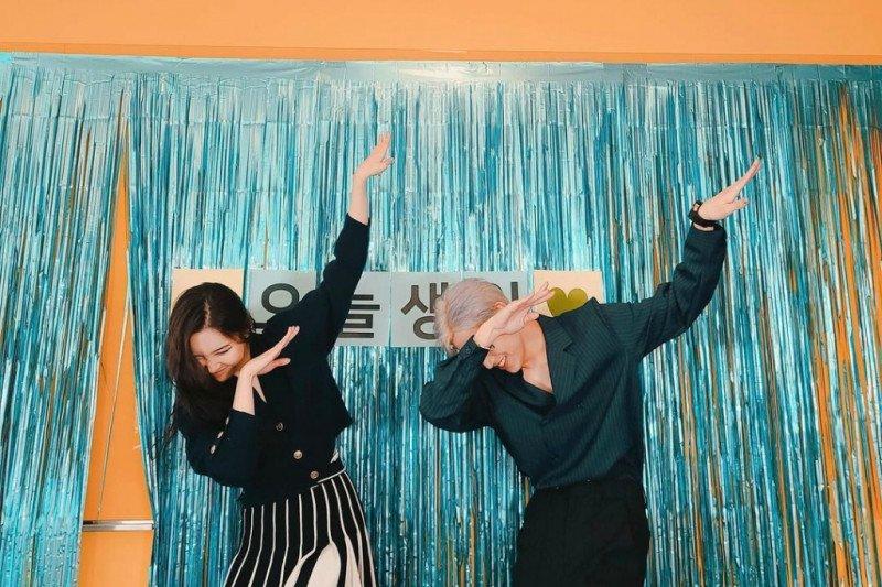 Sunmi dan BamBam GOT7 rayakan ulang tahun bersama
