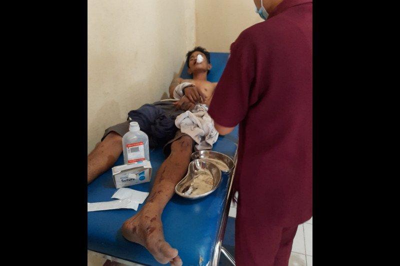 Jambret handphone anak kecil, pemuda asal Desa Beleka Lombok Tengah babak belur dihajar warga