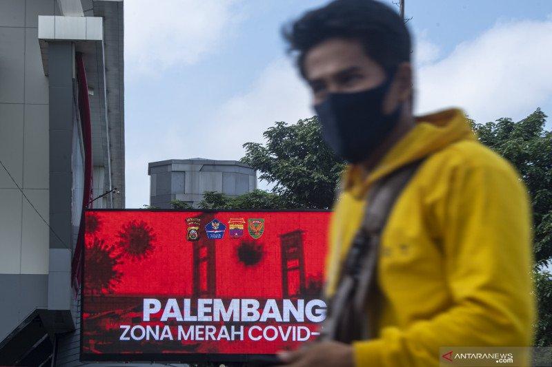 Palembang Zona Merah COVID-19