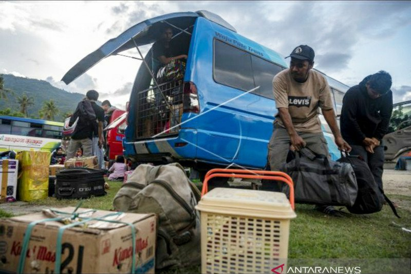 Pemprov Sulteng gunakan skema aglomerasi untuk atur warga yang mudik lebaran
