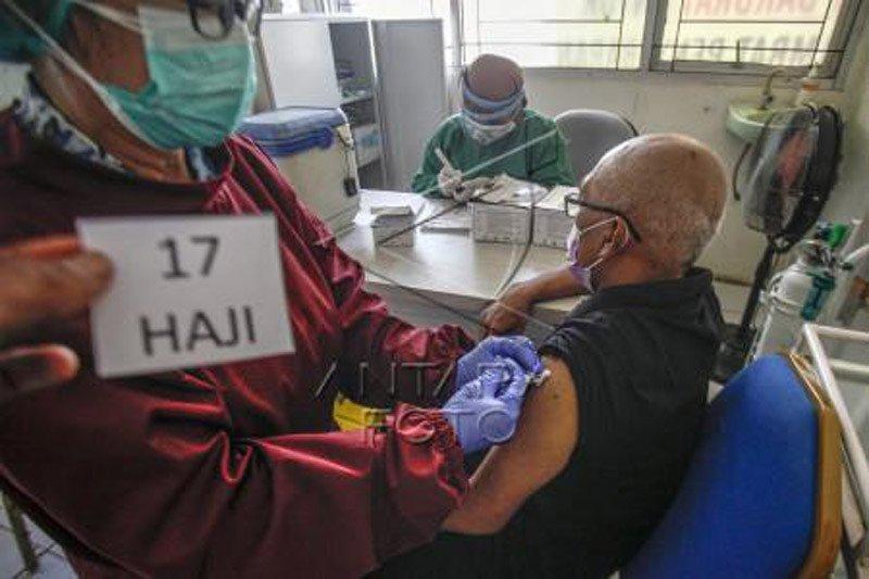 Vaksinasi COVID-19 untuk Jamaah calon haji