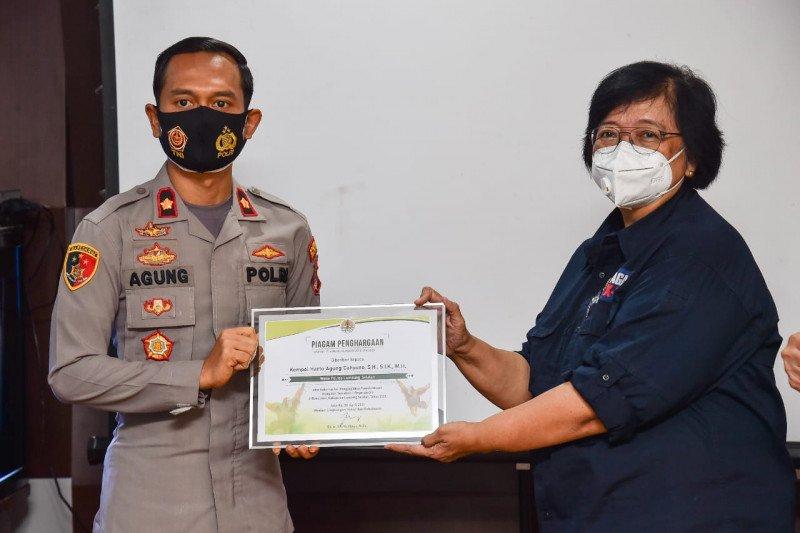 Menteri LHK apresiasi penyelamatan orangutan di Bakauheni Lampung Selatan