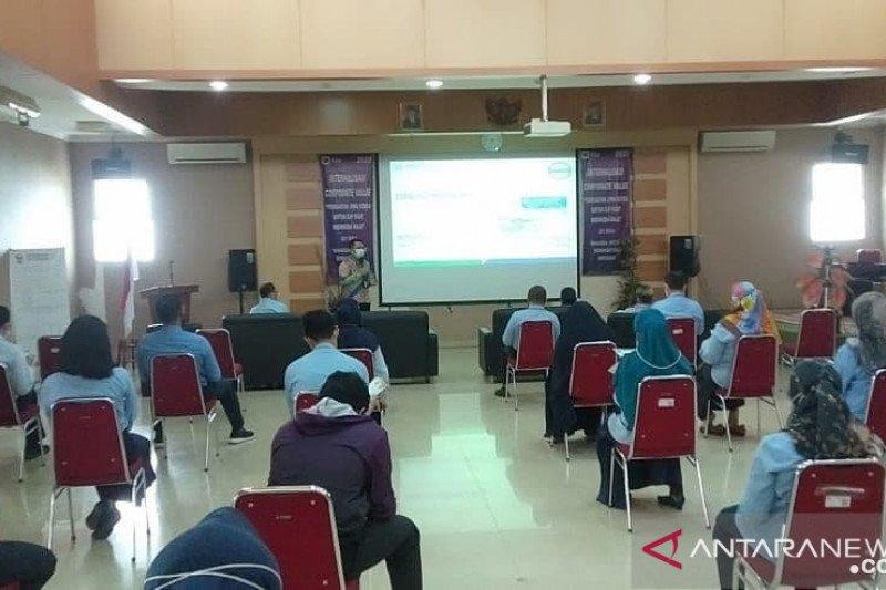 BPJS Kesehatan Padang berikan sosialisasi dan pemahaman program JKN-KIS di KPP Pratama