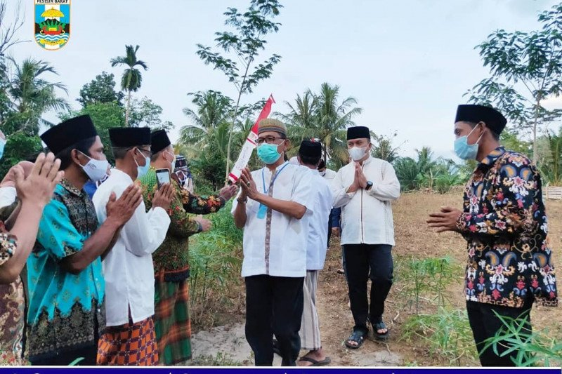 Bupati dan Wakil Bupati Pesisir Barat kunjungi Pondok Pesantren Nurul Huda