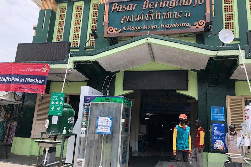 Pedagang Beringharjo berharap larangan mudik tidak kurangi konsumen