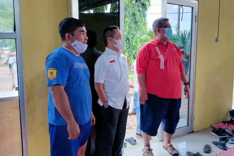 KONI Lampung segera lengkapi peralatan latihan atlet PON