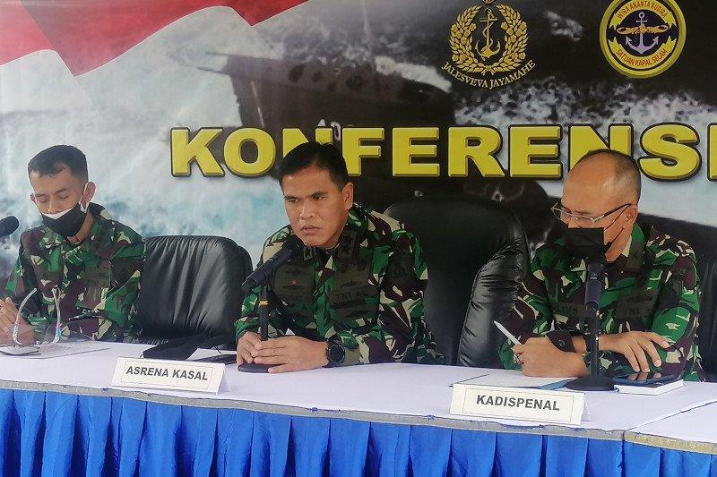 TNI AL mengaku kesulitan evakuasi KRI Nanggala-402