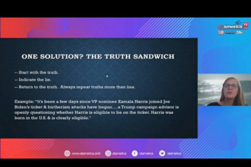 Profesor Janet tekankan pentingnya mendidik masyarakat pahami berita palsu