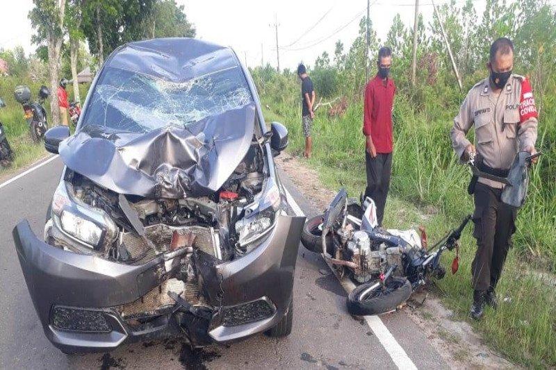 Pengendara di Palangka Raya diimbau waspadai kerawanan kecelakaan merenggut nyawa